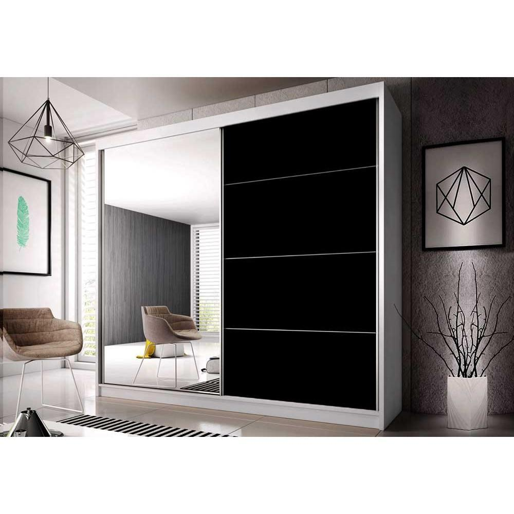 Multi 31 Sliding Door Wardrobe 233cm