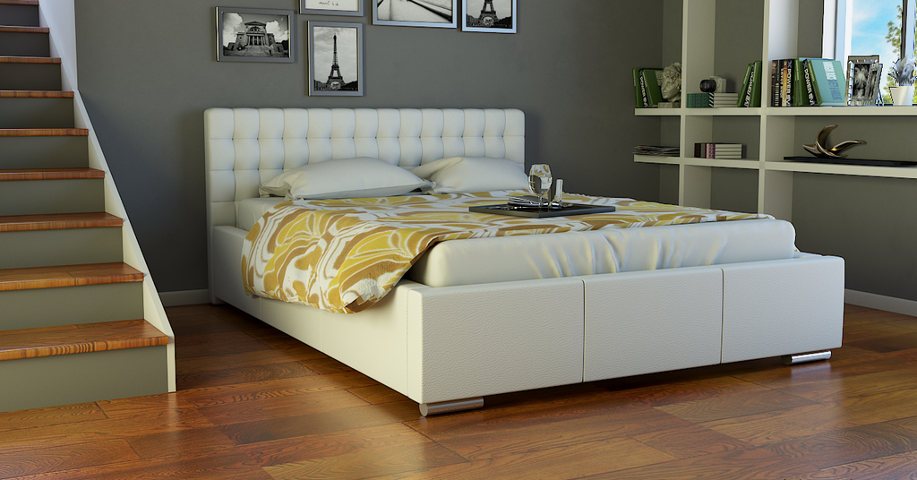 TOP-4 Upholstered Bed Frame 3 Sizes