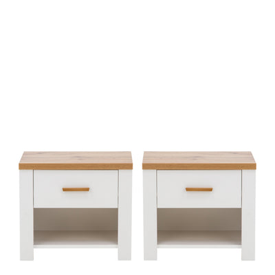 Nicea 23 Pair of Bedside Cabinets