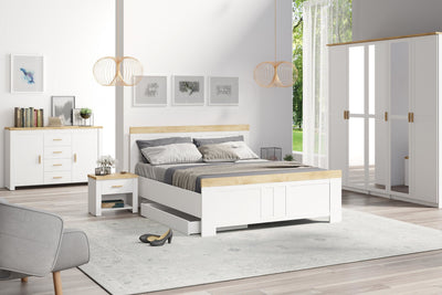 Nicea 31/32 Bed White in 2 sizes