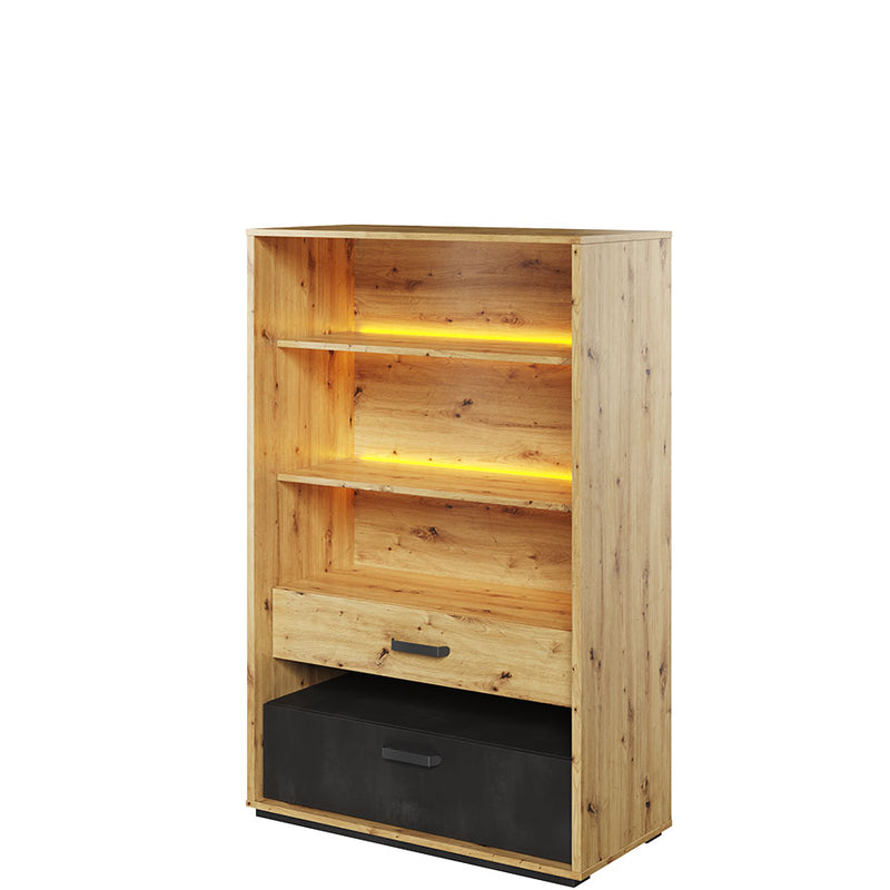 Qubic 06 Bookcase with LED