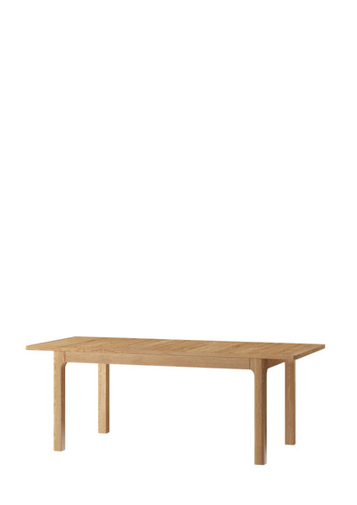 Savona 40 Extending Dining Table in Golden Oak