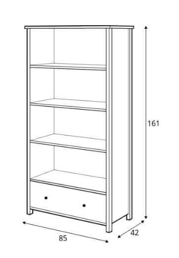 Story SO-02 Bookcase
