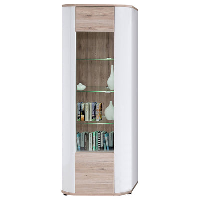 Rondo Tall Display Cabinet 10