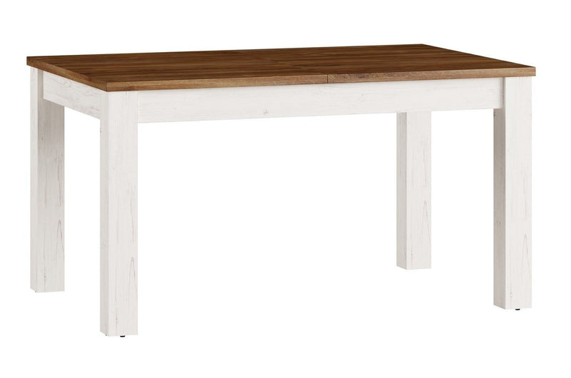 Country 40 Extendable Dining Table in Oak Sterling and Andersen Pine