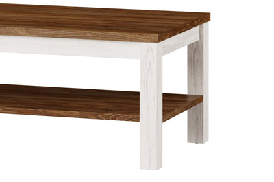 Country 41 Coffee Table in Oak Sterling and Andersen Pine