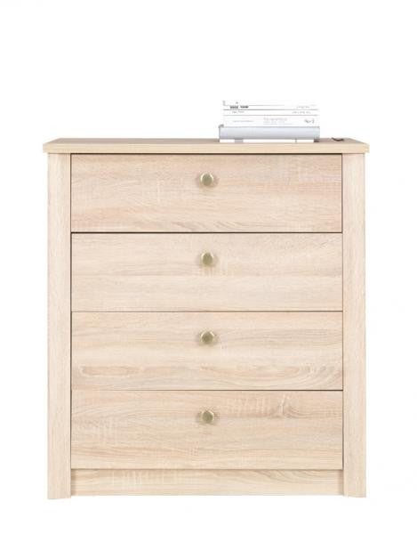 Finezja F09 Chest of Drawers 80cm