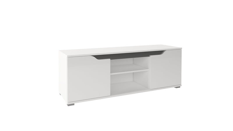Wall Unit Lanco 1 in White Gloss