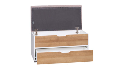 Iwa 04 Storage Cabinet with Two Drawers