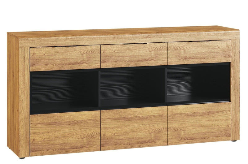 Kama 47 Display Sideboard Cabinet in Camargue Oak