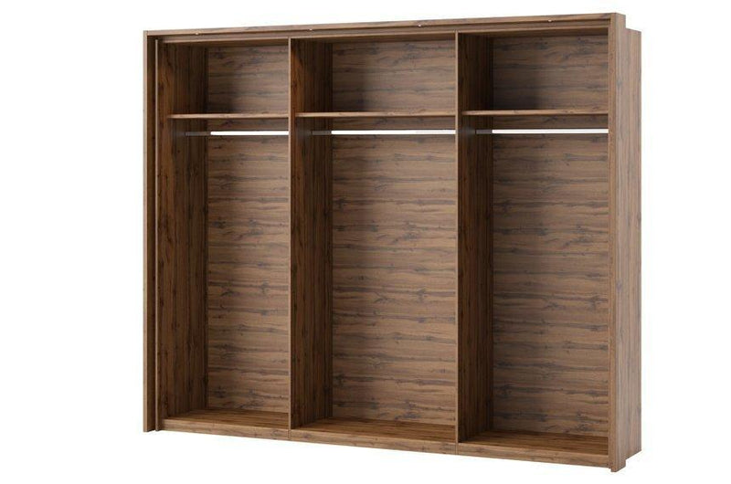 Livorno 83 Set of 3 Additional Shelves in Wotan Oak for Livorno 73 Wardrobe