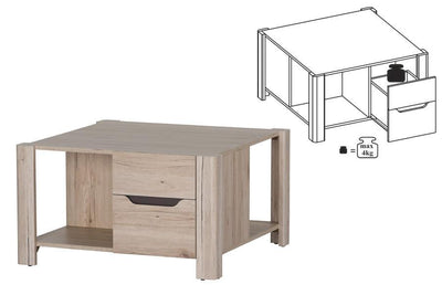 Desjo 41 Coffee Table with Storage Drawer