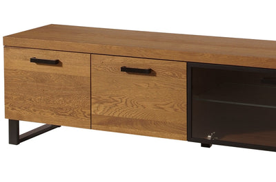 Pratto 25 TV Cabinet 180cm in Rustic Oak