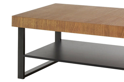 Pratto 41 Coffee Table in Rustic Oak