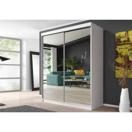 Multi 20 Sliding Door Wardrobe 183cm