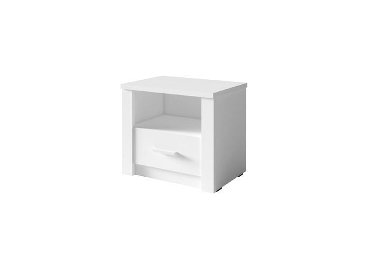 Tana 23 Pair of Bedside Cabinets in White