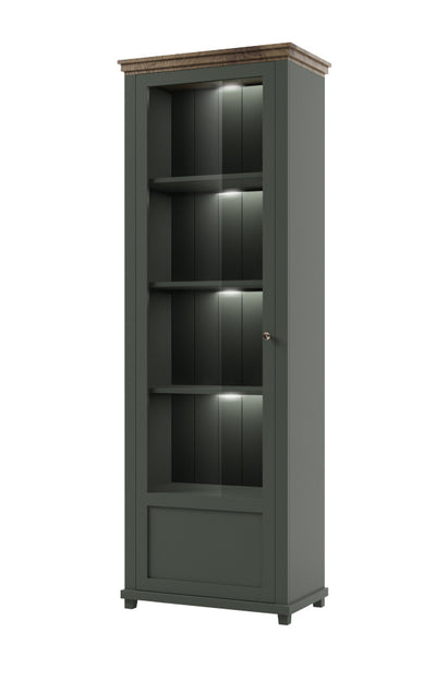 Evora 05 Tall Display Cabinet  [Left]