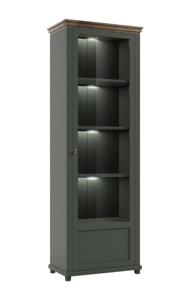 Evora 06 Tall Display Cabinet [Right]