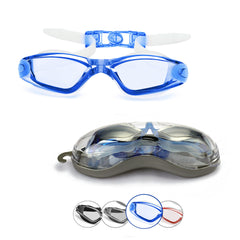 Comfort Adult Anti-Glare Swim Goggles (Blue)
