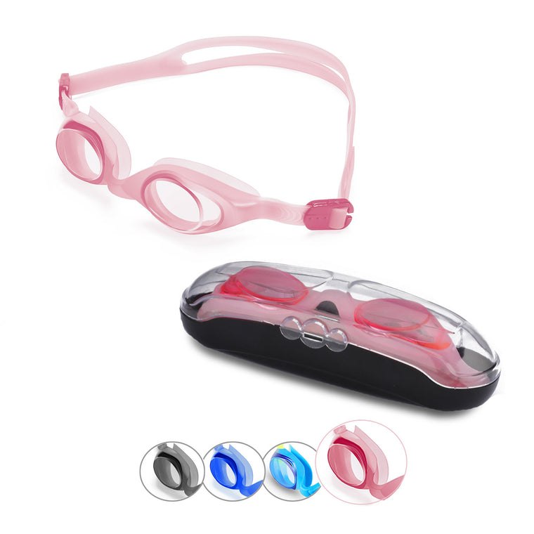 First-Start Kids Anti-Fog Swim Goggles (Pink)
