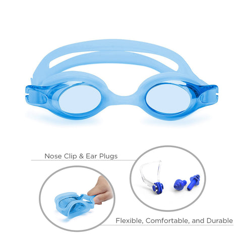 Freestyle Junior Swim Goggles (Blue)