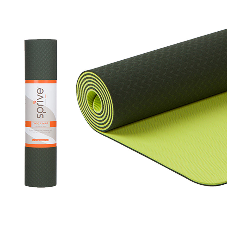 Standard Dual Color TPE Yoga Mat (6mm, 72