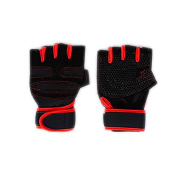 Men's Anti-Slip Fitness Training Gym Gloves
