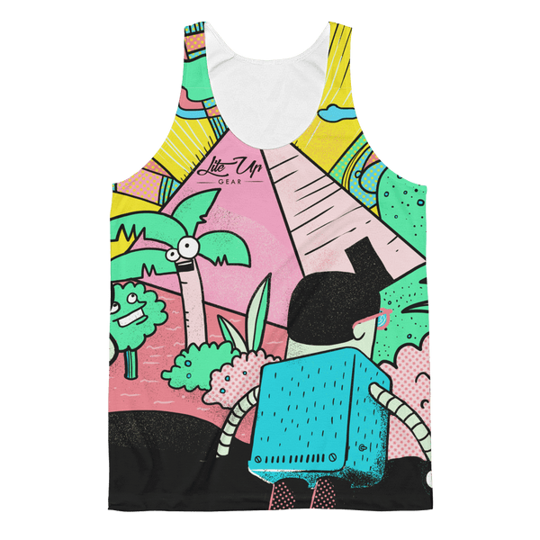 "Unisex Classic Fit Tank Top - John Kaleidoscope St 08 ""Foreign Land"""