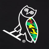 OG OWL CAMO T-SHIRT - BLACK