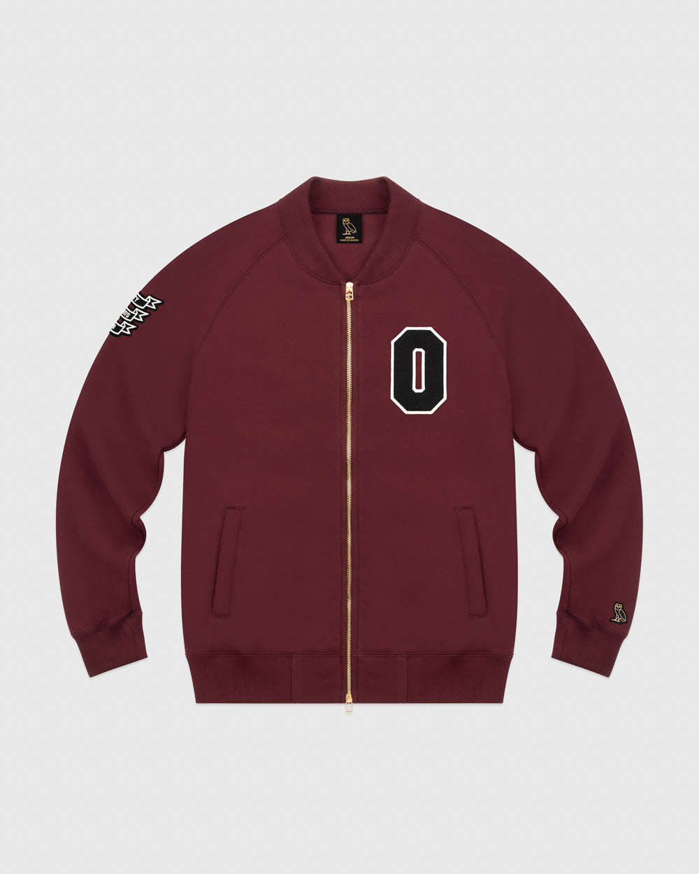 OVO TOURNAMENT BOMBER - BURGUNDY