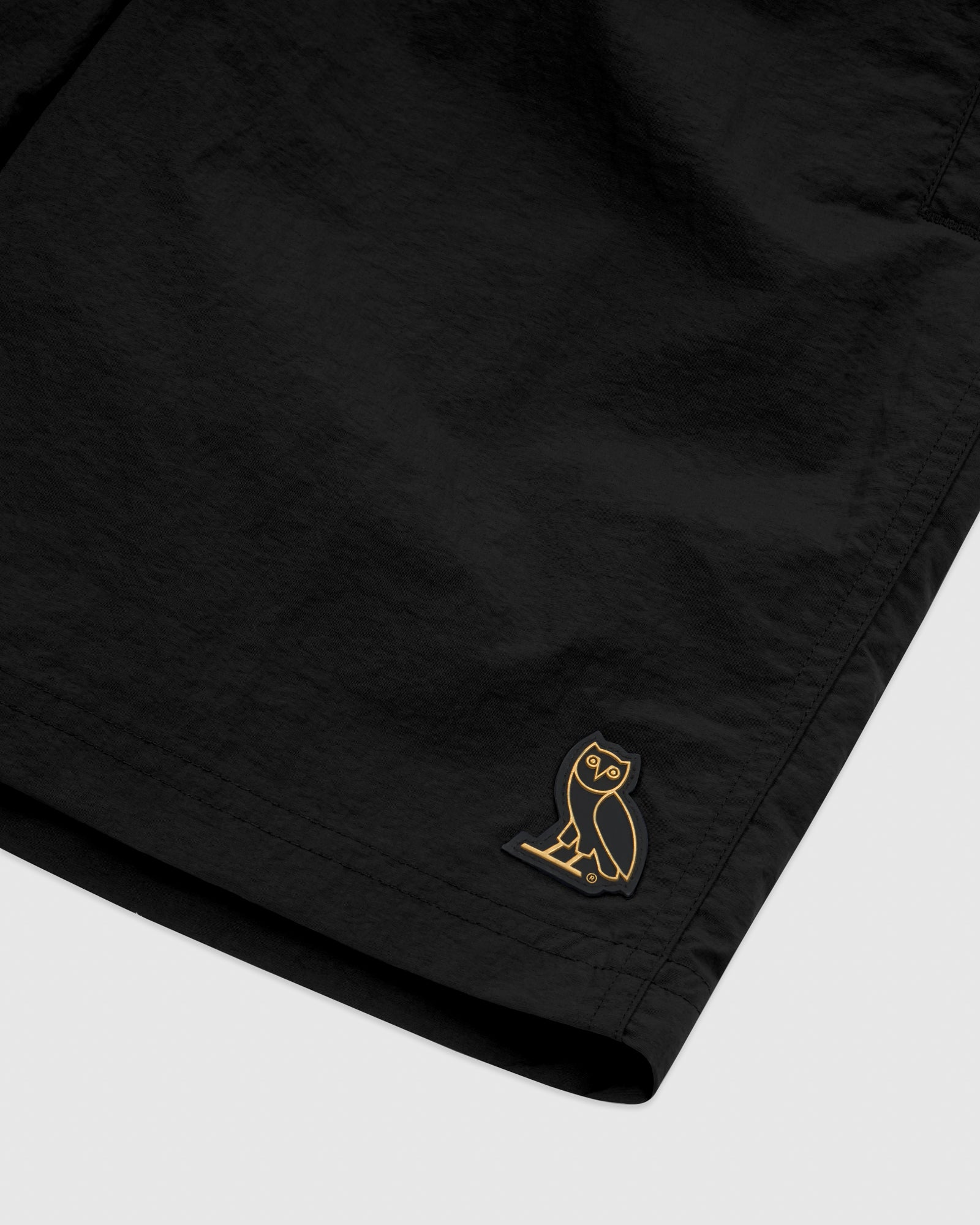 OVO NYLON CAMP SHORT - BLACK IMAGE #3