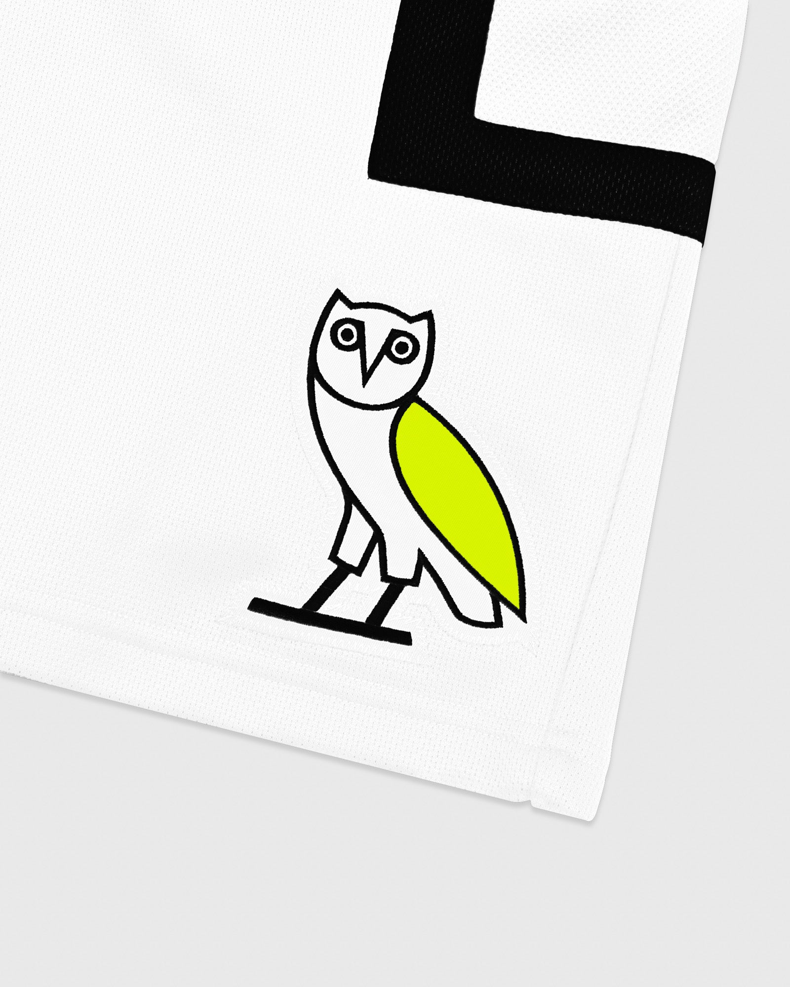 OVO OWL BASKETBALL SHORT - WHITE IMAGE #3