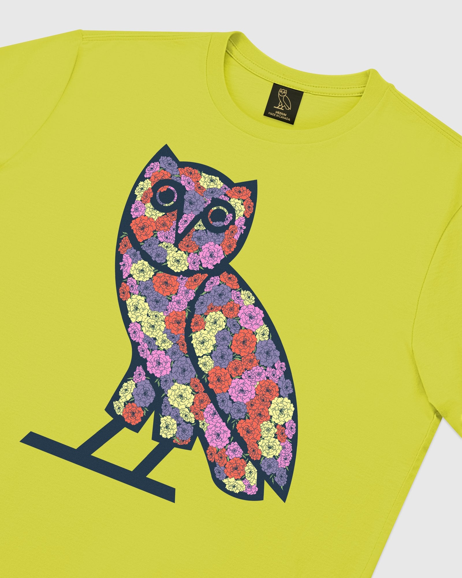CELEBRATION OWL T-SHIRT - LIME IMAGE #4