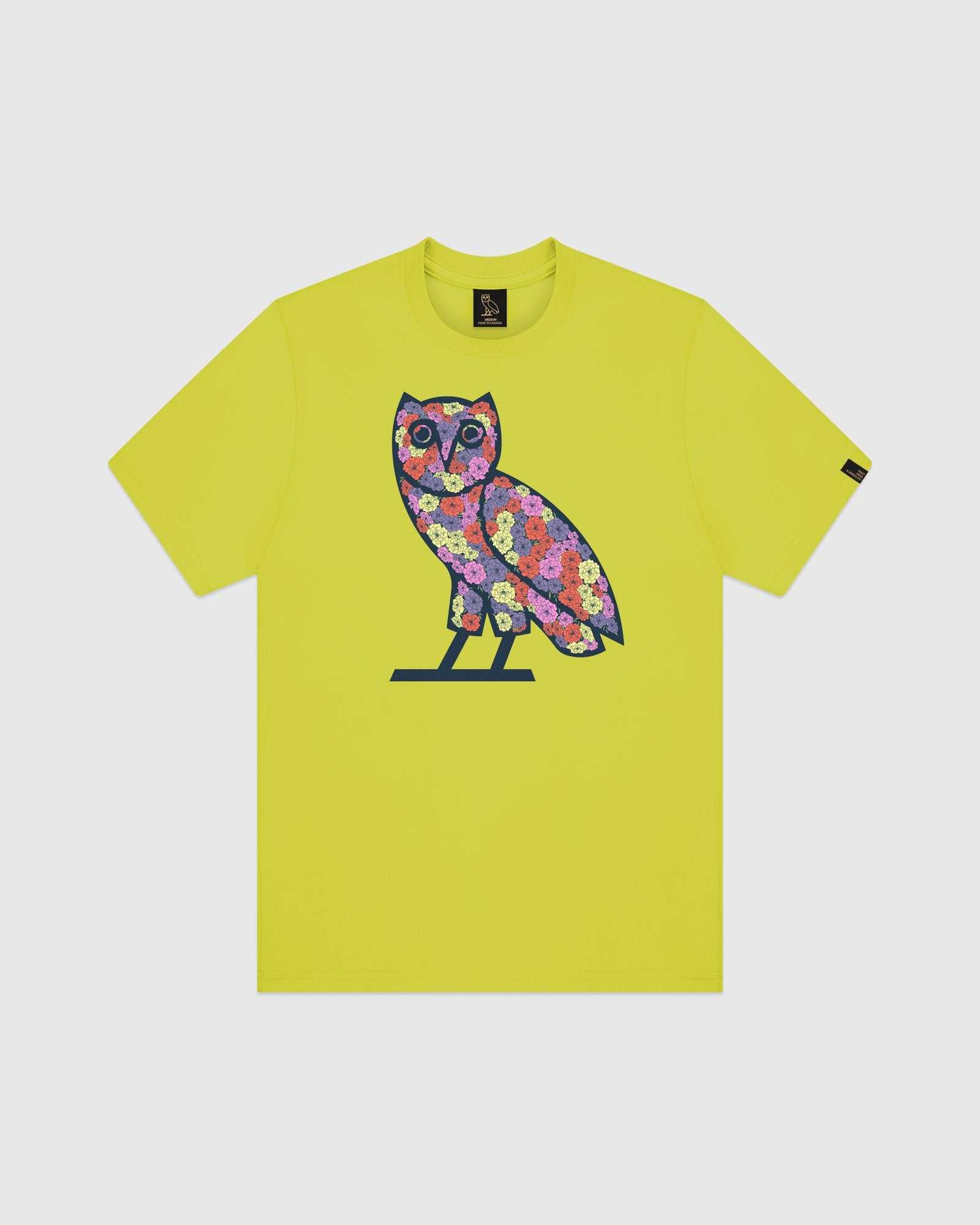 CELEBRATION OWL T-SHIRT - LIME IMAGE #1