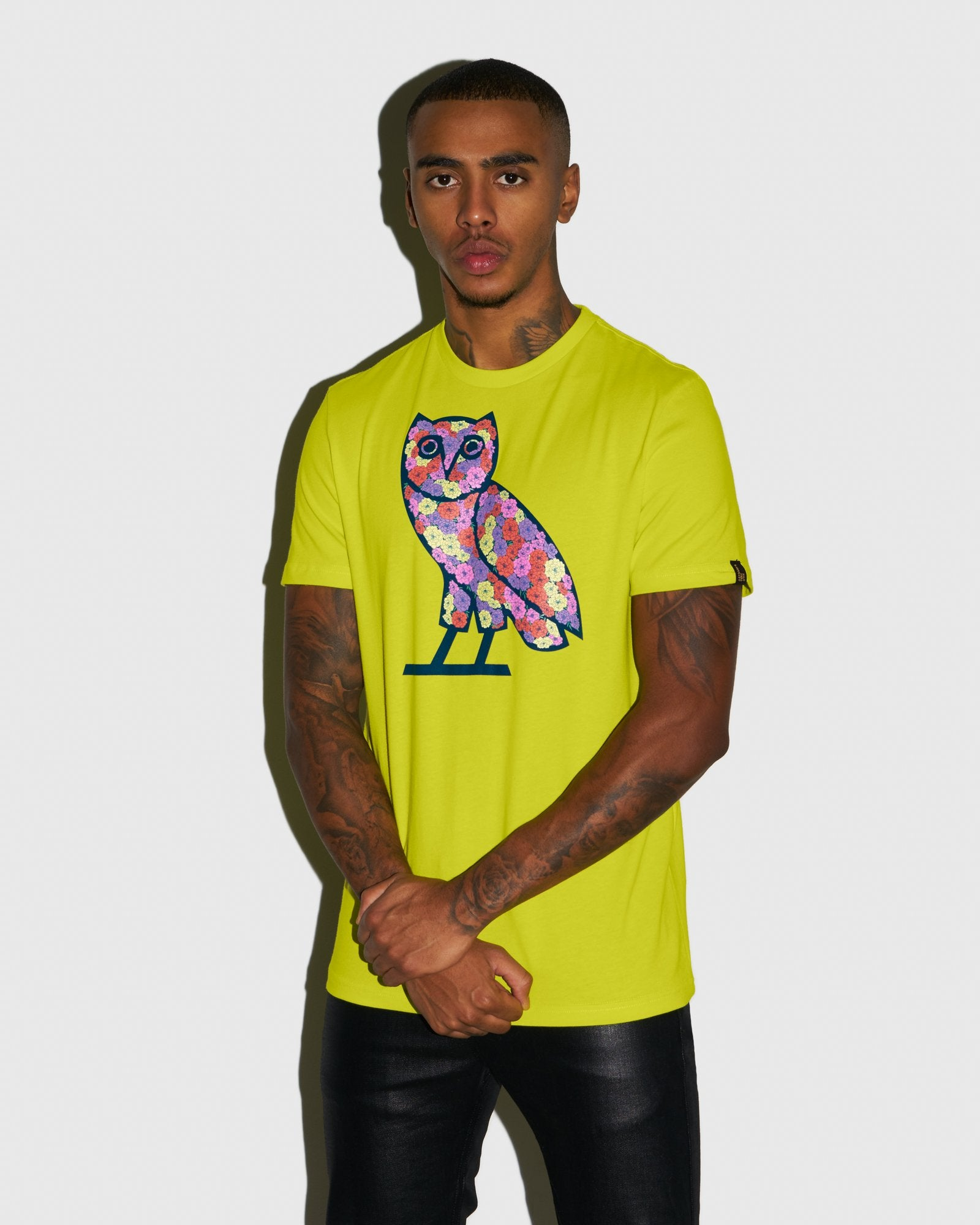 CELEBRATION OWL T-SHIRT - LIME IMAGE #2