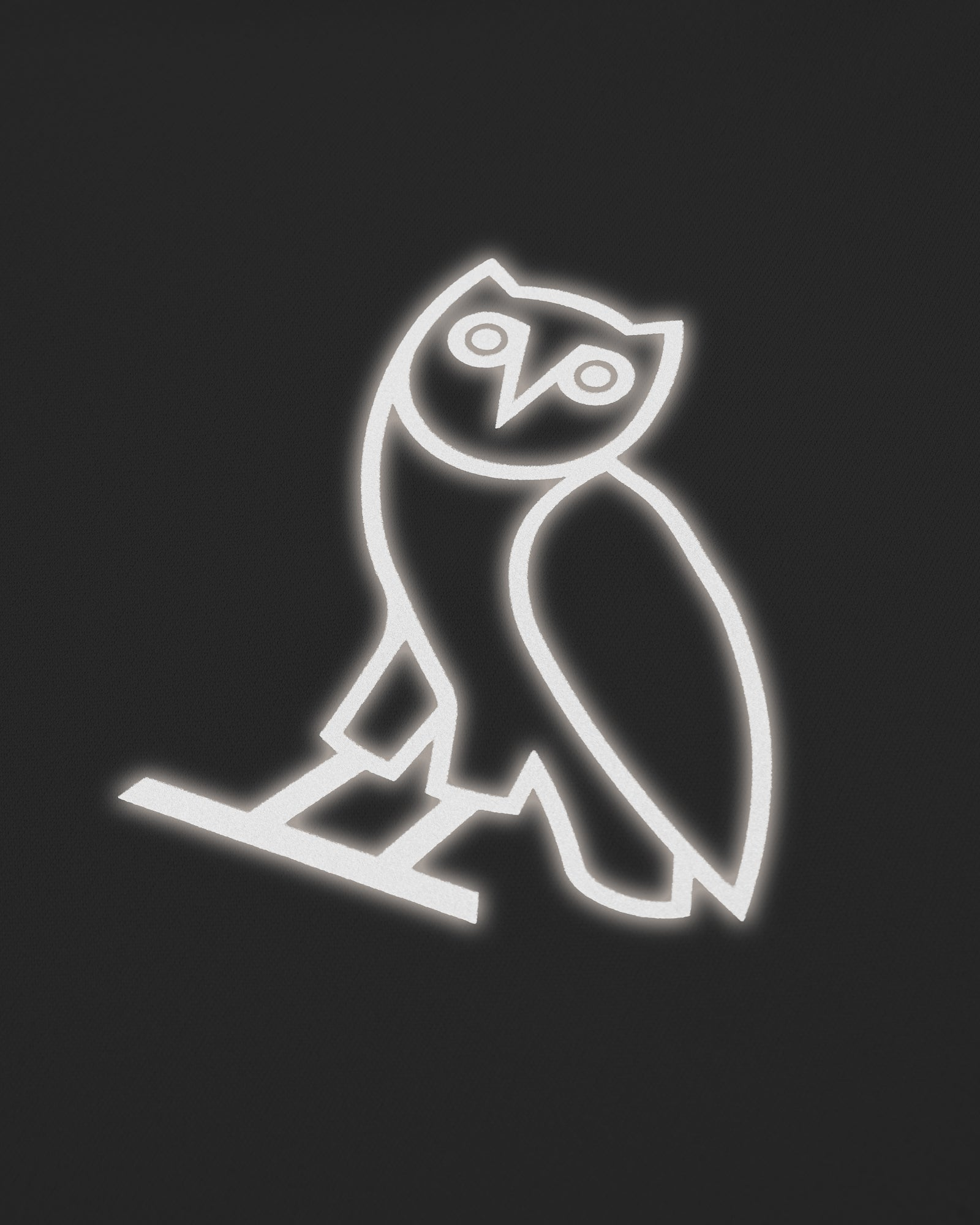 OVO OWL PERFORMANCE LONGSLEEVE T-SHIRT - GREY IMAGE #4
