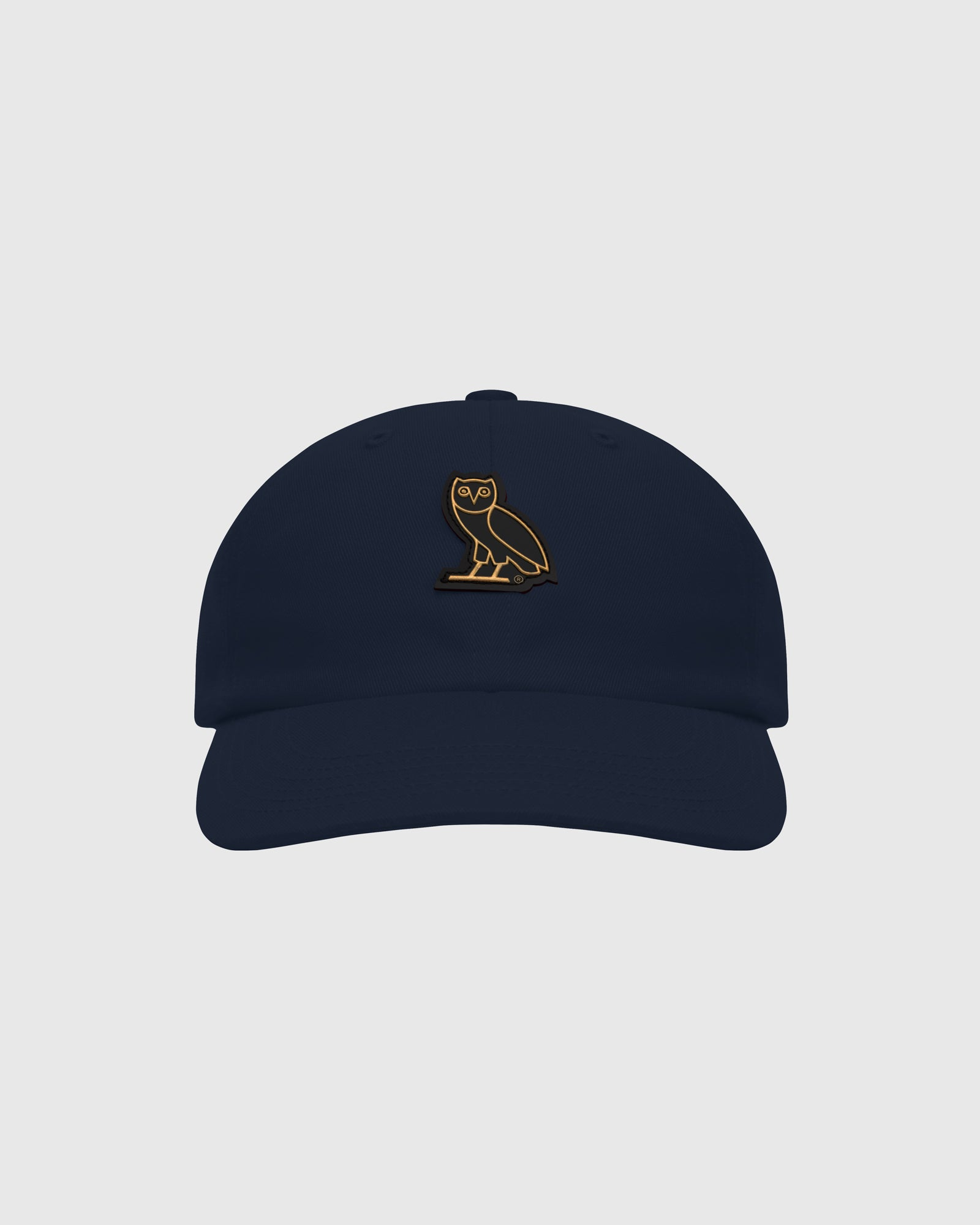 OVO COTTON TWILL CAP - NAVY