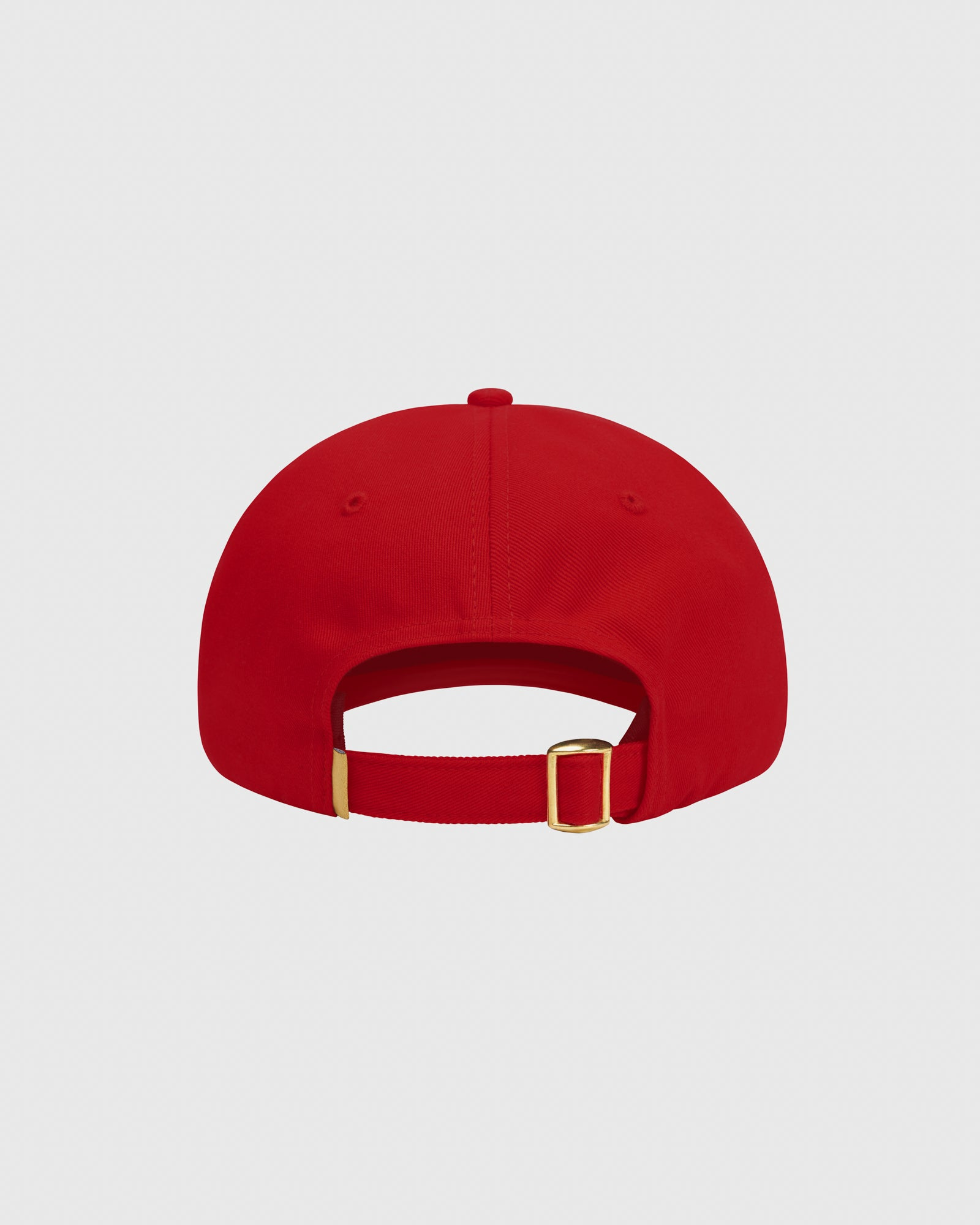 OVO COTTON TWILL CAP - RED IMAGE #4