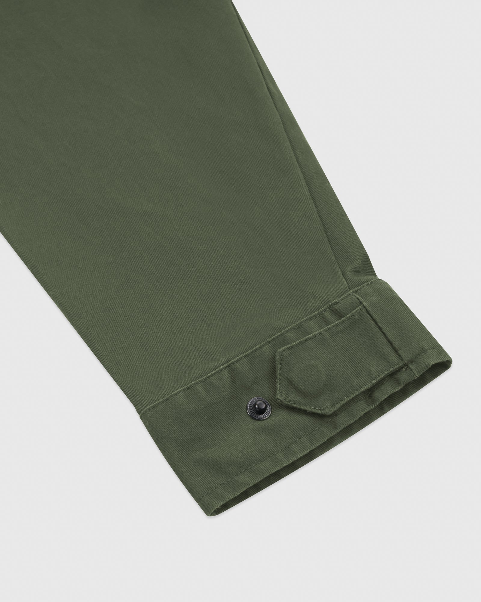HOODED CARGO JACKET - MILITARY GREEN IMAGE #5