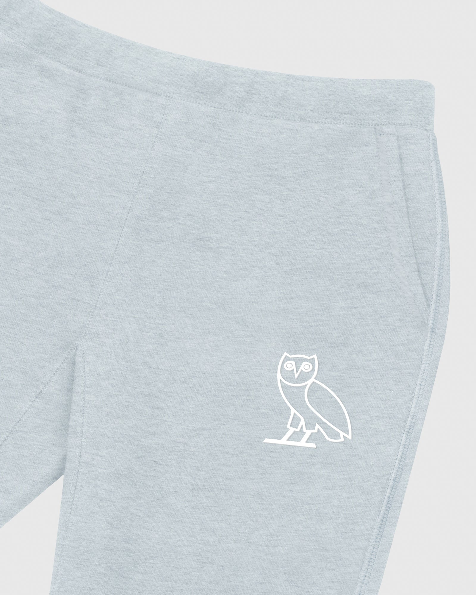 DOUBLE KNIT SWEATPANT - HEATHER BLUE