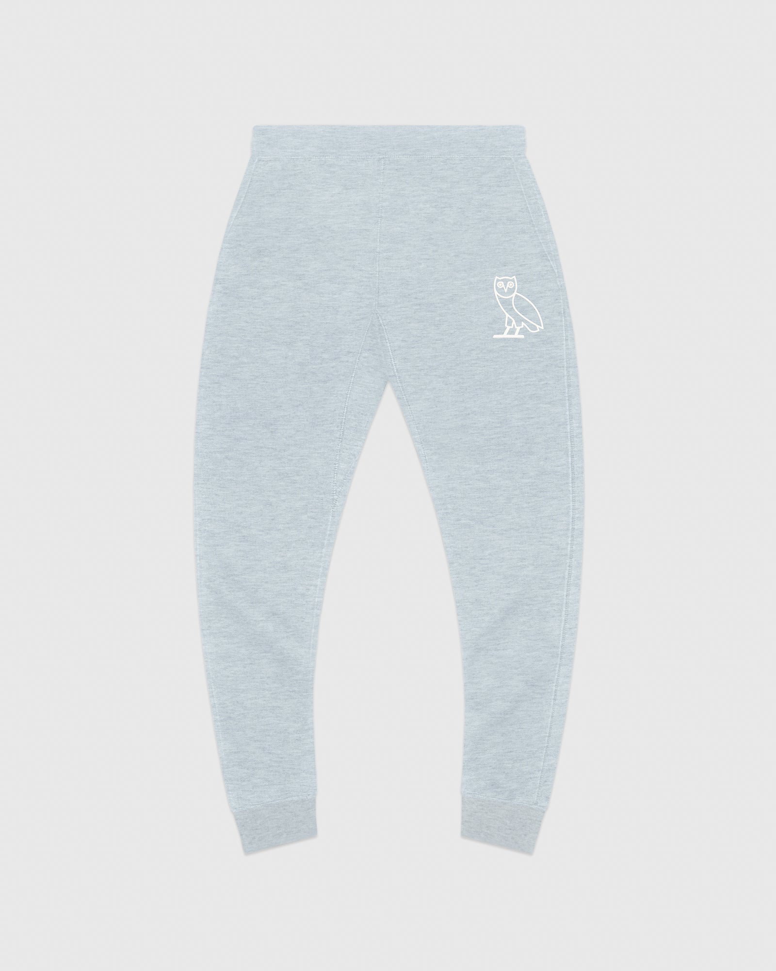 DOUBLE KNIT SWEATPANT - HEATHER BLUE IMAGE #1