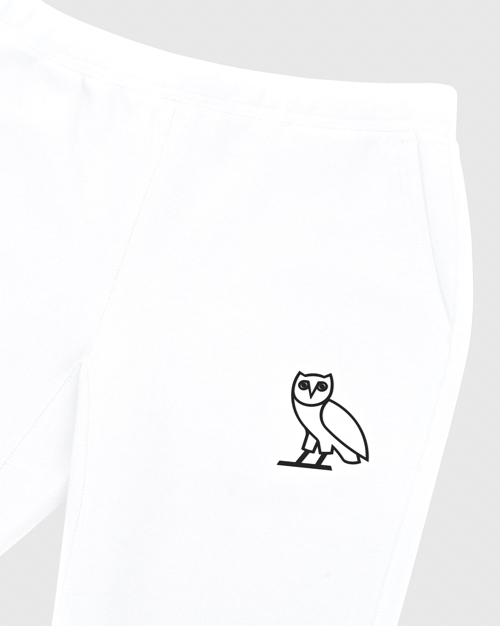 DOUBLE KNIT SWEATPANT - WHITE IMAGE #3
