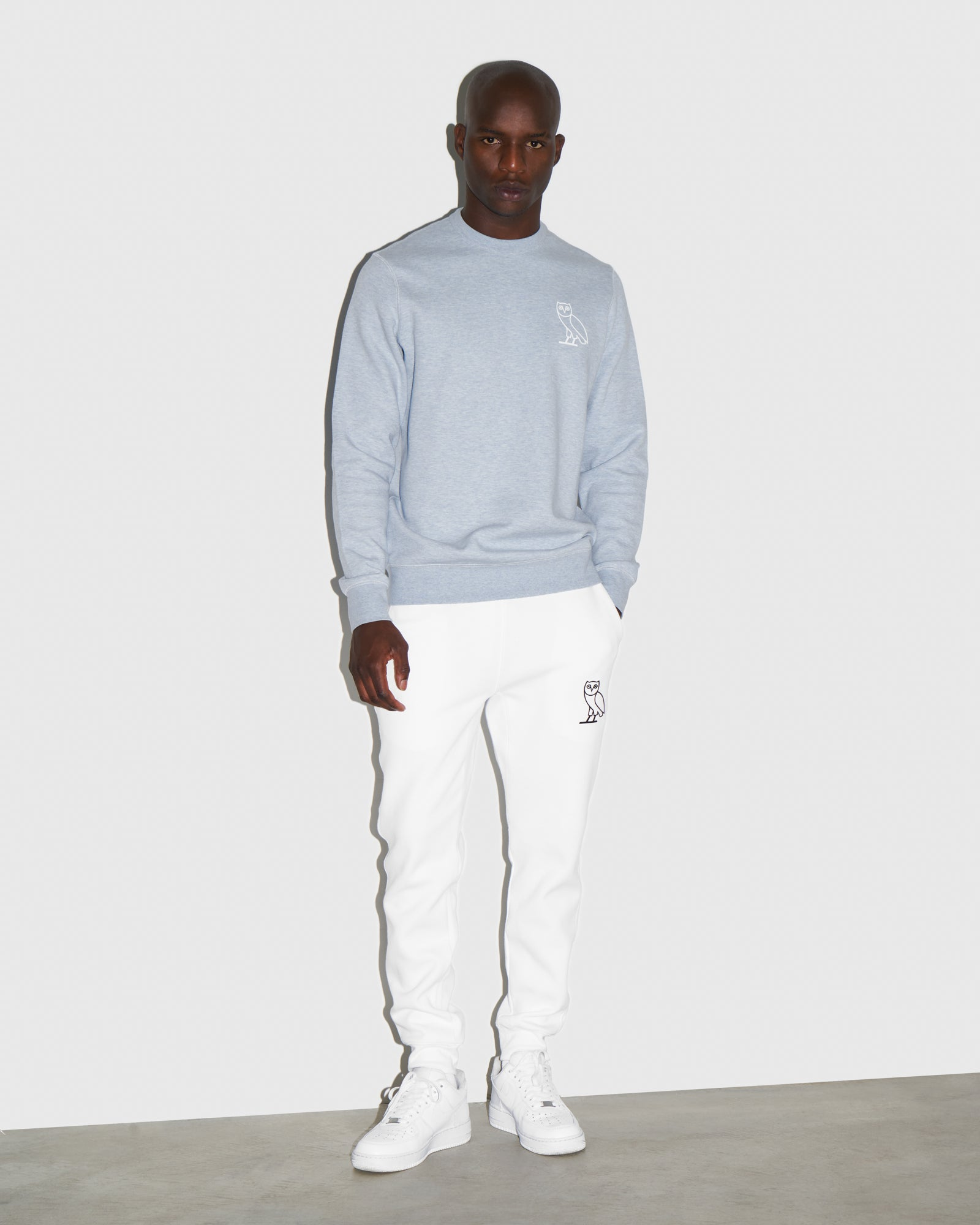 DOUBLE KNIT SWEATPANT - WHITE IMAGE #2