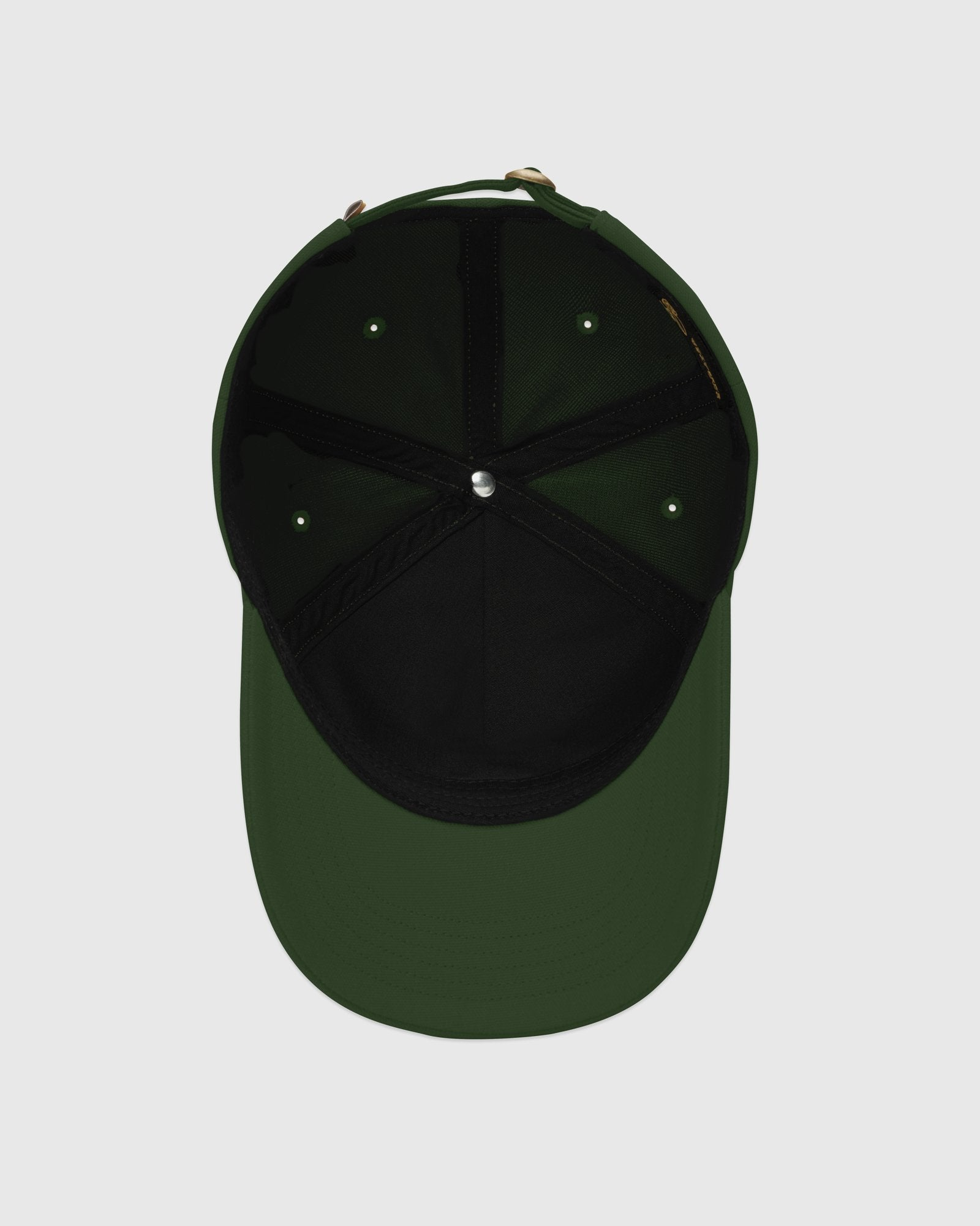 FAMILIA MASK CANVAS CAP - DARK GREEN IMAGE #5