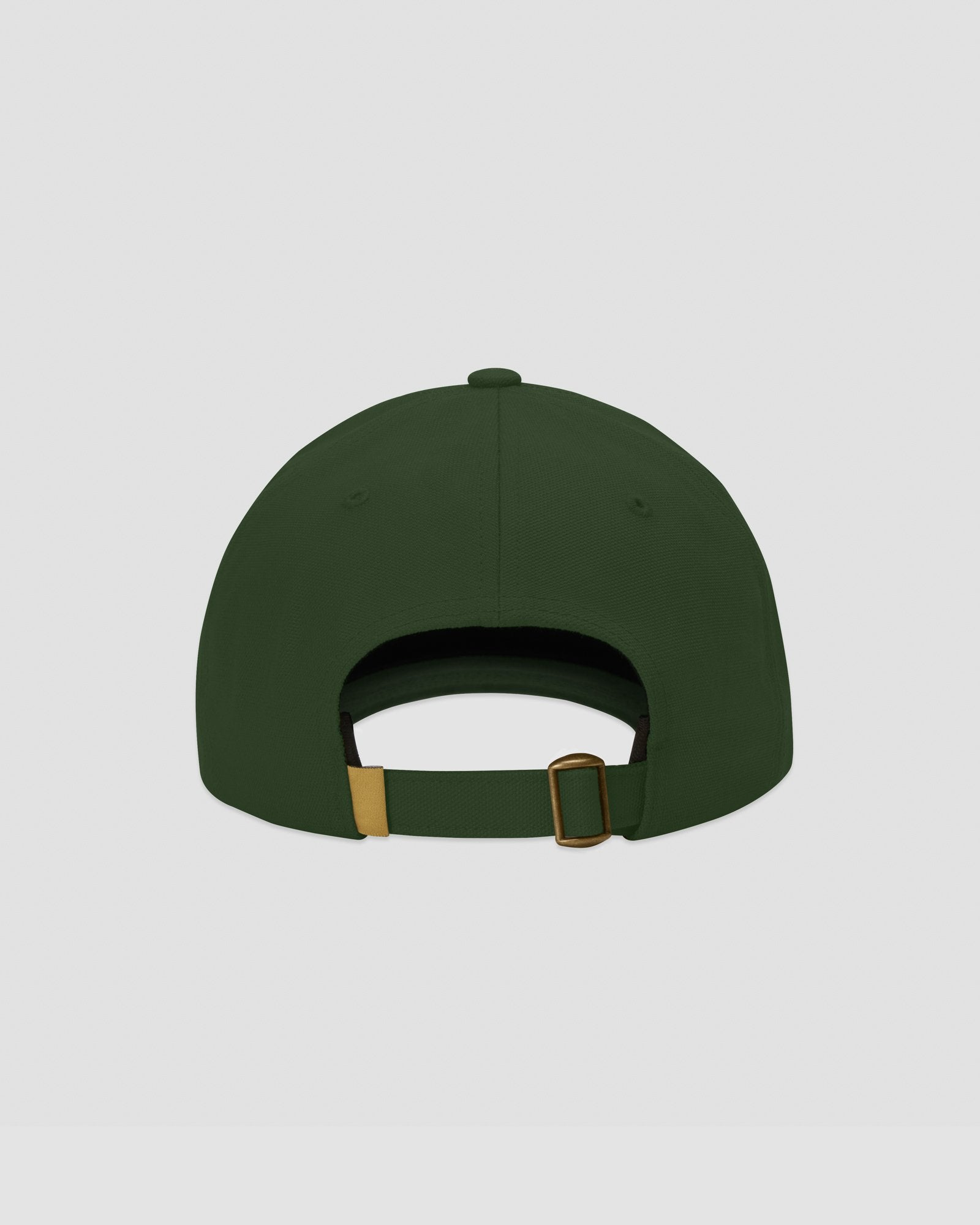 FAMILIA MASK CANVAS CAP - DARK GREEN IMAGE #4