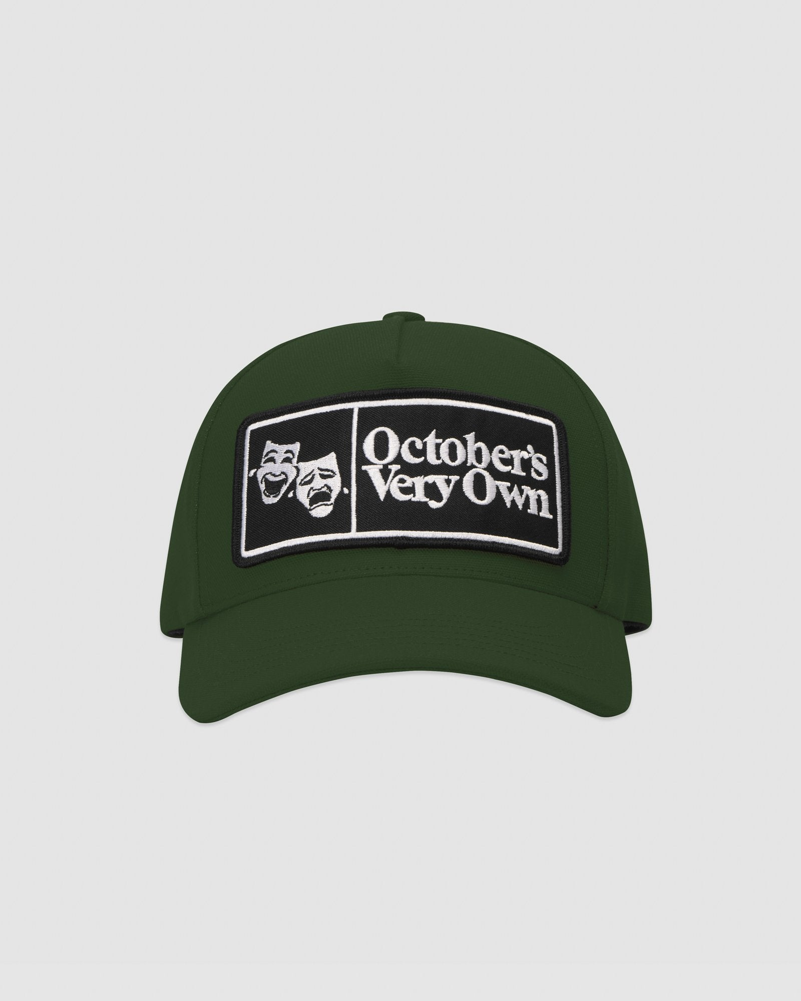 FAMILIA MASK CANVAS CAP - DARK GREEN IMAGE #1