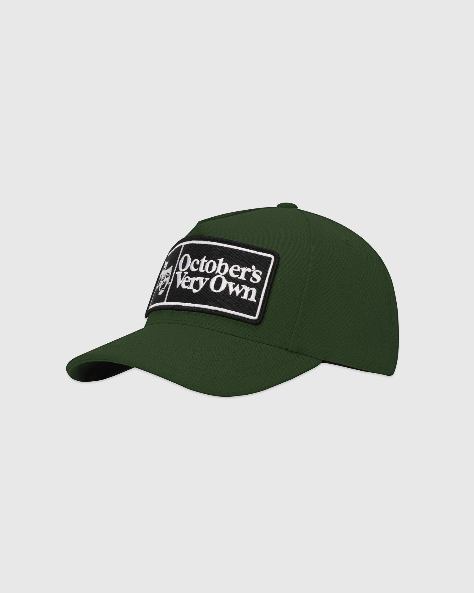 FAMILIA MASK CANVAS CAP - DARK GREEN IMAGE #3