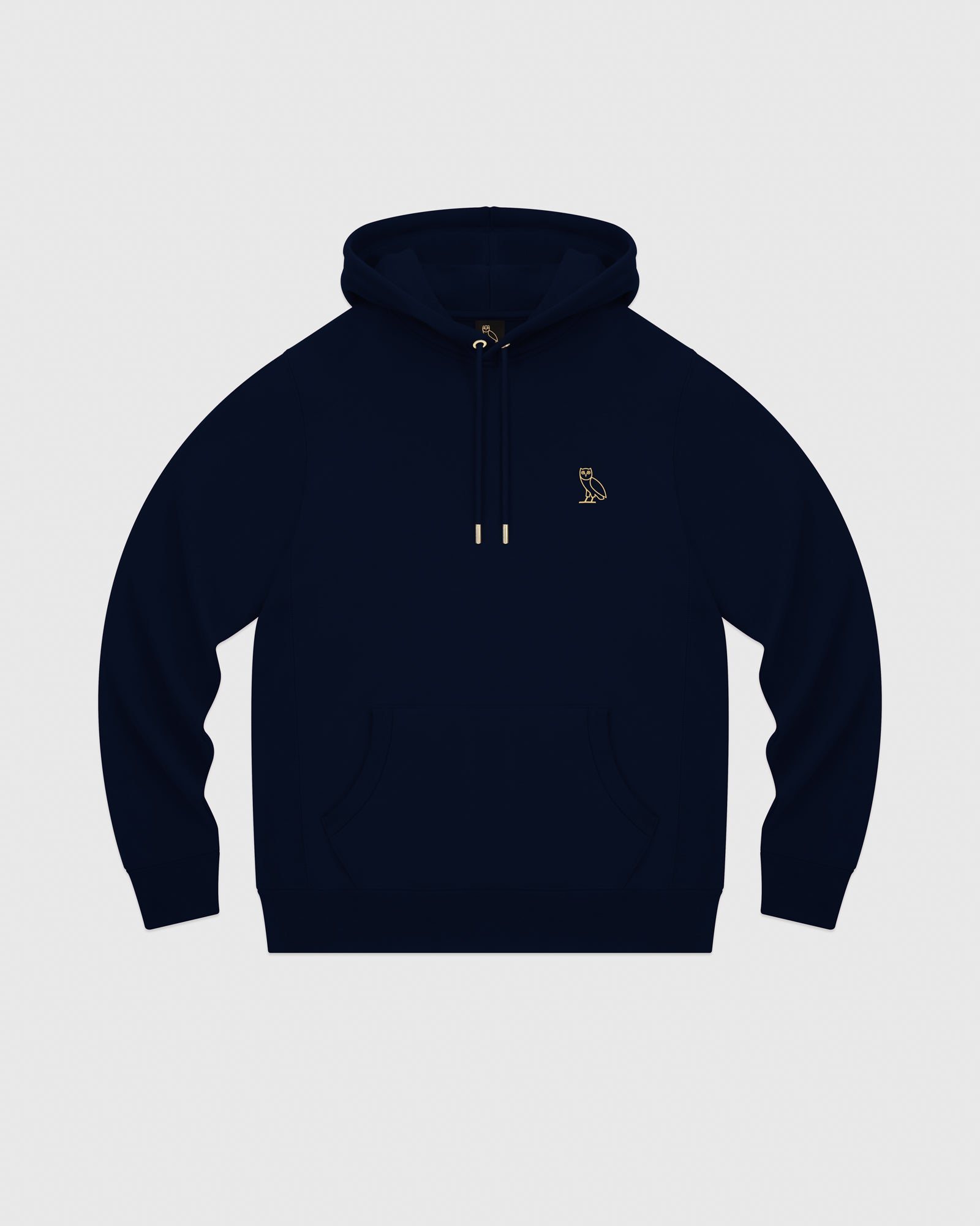 MID-WEIGHT FRENCH TERRY HOODIE - NAVY IMAGE #1