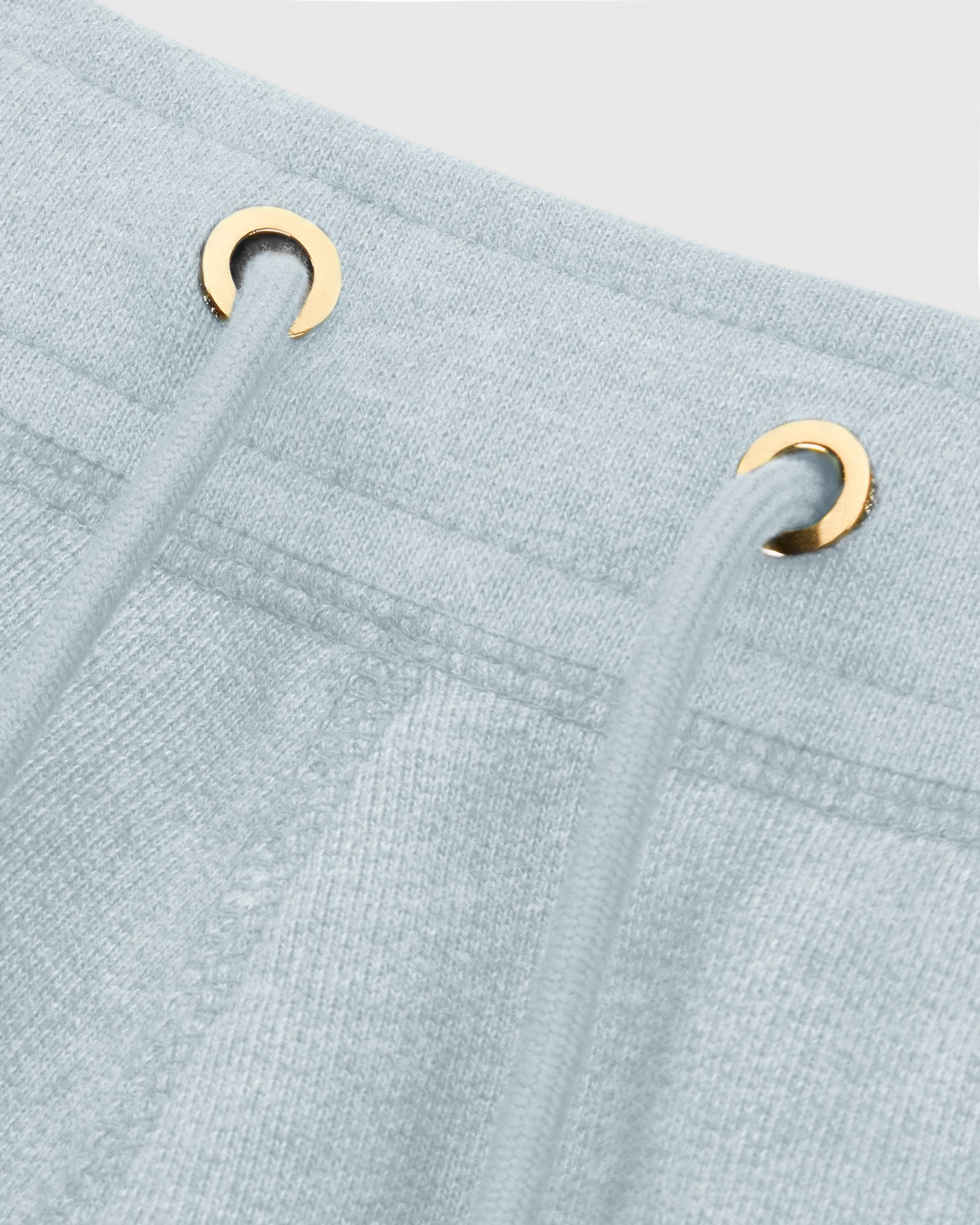 OVO FRENCH TERRY SHORT - HEATHER LIGHT BLUE IMAGE #4