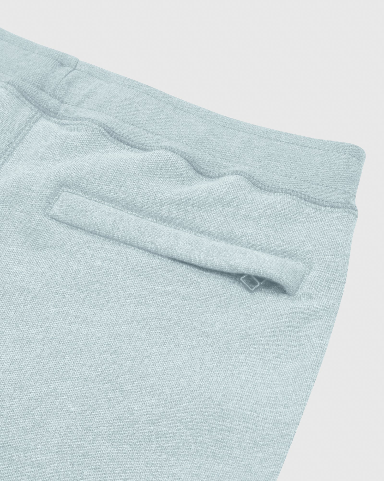 OVO FRENCH TERRY SHORT - HEATHER LIGHT BLUE IMAGE #6